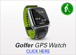 Golfer GPS Watch