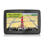 """TomTom VIA 1505M with Lifetime Maps Brand New Includes One Year Warranty, Product # 1EN501901 The TomTom VIA 1505M 5-Inch Glass Touchscreen Portable GPS Navigator is preloaded with 7 million of points of interest to enhance your traveling experience"