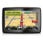 """TomTom VIA 1435TM with Lifetime Maps and Traffic Brand New Includes One Year Warranty, Product # 1EV401903 The TomTom VIA 1435TM 5-Inch Glass Touchscreen Portable GPS Navigator is preloaded with 7 million of points of interest to enhance your traveling experience"