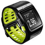 """Nike SportWatch GPS (Black / Volt) Powered by TomTom Brand New Includes One Year Warranty, The TomTom NikeSportWatch is a sleek sport watch that tracks your time, distance, pace, heart rate and calories burned"