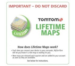 TomTom VIA tomtom lifetime maps us canada mexico