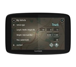 TomTom GPS w/ Bluetooth Connectivity tomtom trucker 520