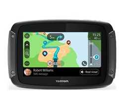 TomTom GPS w/ Bluetooth Connectivity tomtom rider 550