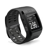 """""""Nike SportWatch GPS (Black) Powered by TomTom Brand New Includes One Year Warranty, The TomTom NikeSportWatch is a sleek sport watch that tracks your time, distance, pace, heart rate and calories burned"""