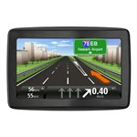 """""""TomTom VIA 1505M with Lifetime Maps  Product # 1EN501901 The TomTom VIA 1505M 5-Inch Glass Touchscreen Portable GPS Navigator is preloaded with 7 million of points of interest to enhance your traveling experience"""