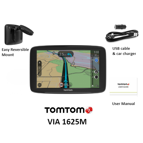 TomTom VIA Series Automotive GPS: 1415M, 1510M, 1535TM