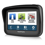 """""""TomTom Rider 3 5th Edition w/ Lifetime Maps Brand New Includes One Year Warranty, Product # 1GD005200 The TomTom Rider 5th Edition is a multi-touch screen portable navigator"""